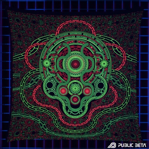 Mastermind UV D45 Wallhanging by Public Beta Wear