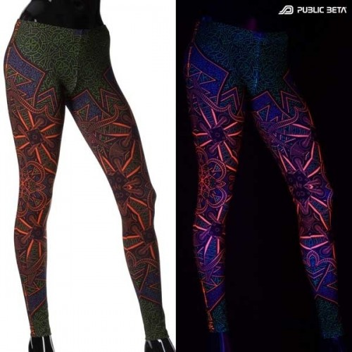 Vortex D98 UV Reactive Leggings