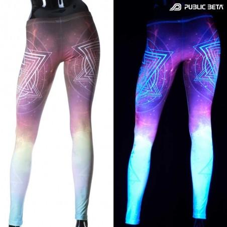 UV Reactive Printed Leggings