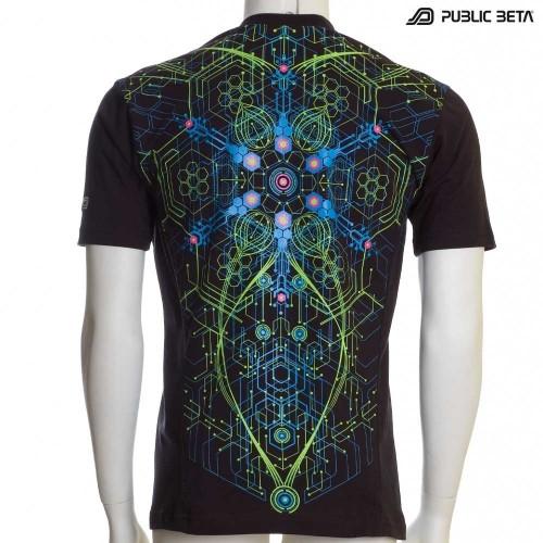 Atomic Generator UV D2 T-Shirt by Public Beta Wear