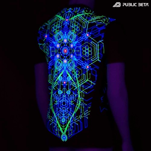 Atomic Generator UV D2 T-Shirt by Public Beta Wear