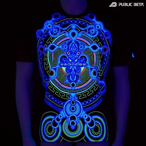 Archaic Trip UV D12 - UV Active Psy T-Shirt