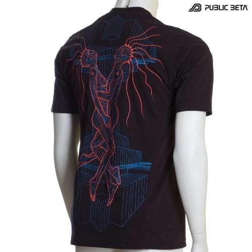 Immersion UV D16 - Psychedelic Blacklight Art T-Shirt