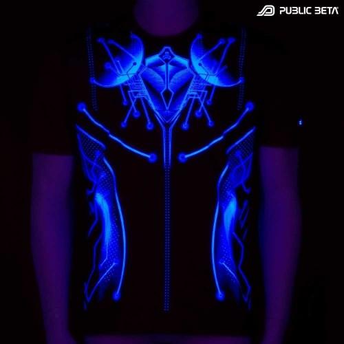 Psywear. UV Active Psytrance Clothing.