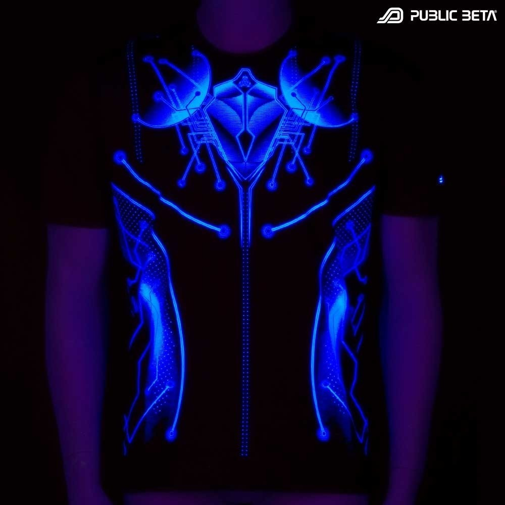 Psywear. UV Active Psytrance Clothing.