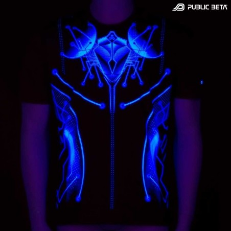 End of Line UV D30 - Psychedelic T-Shirt by Public Beta Wear