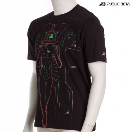 Oracle UV D64 - Psychedelic T-Shirt by Public Beta Wear