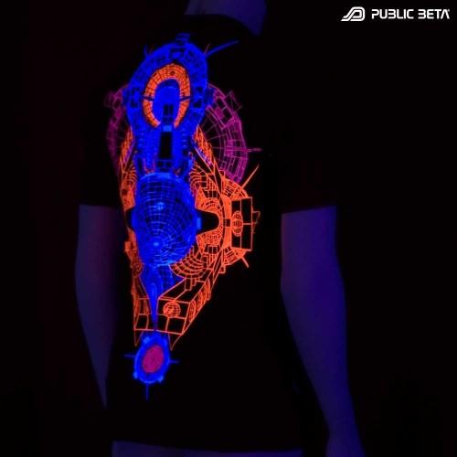 Destination 101 UV Fluorescent T-Shirt