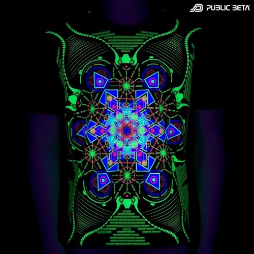Aquatic UV Psy Clothing