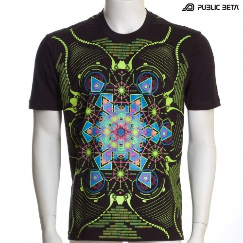 Aquatic UV D71 - Psychedelic T-Shirt by Public Beta Wear