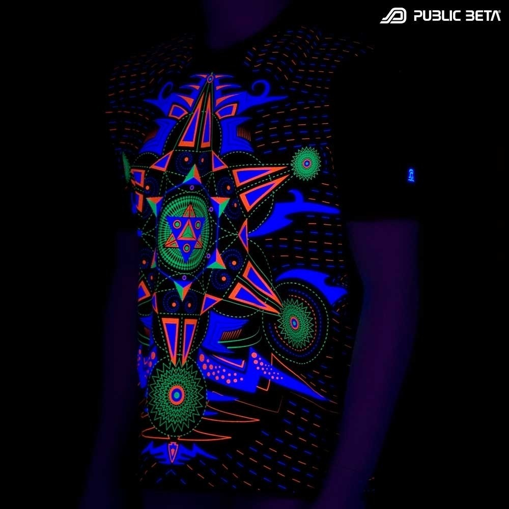 Hexodus UV T-shirt - Goa Clothing