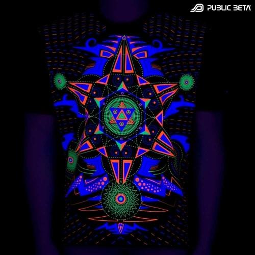 Hexodus UV T-shirt - Goa Clothing