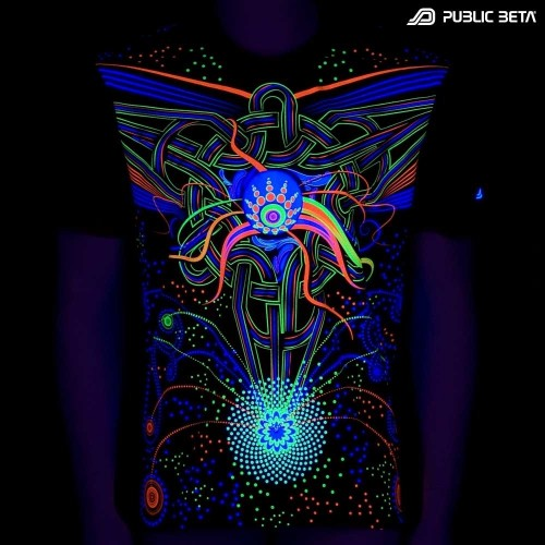 Fusion UV D70 - Psychedelic T-Shirt by Public Beta Wear