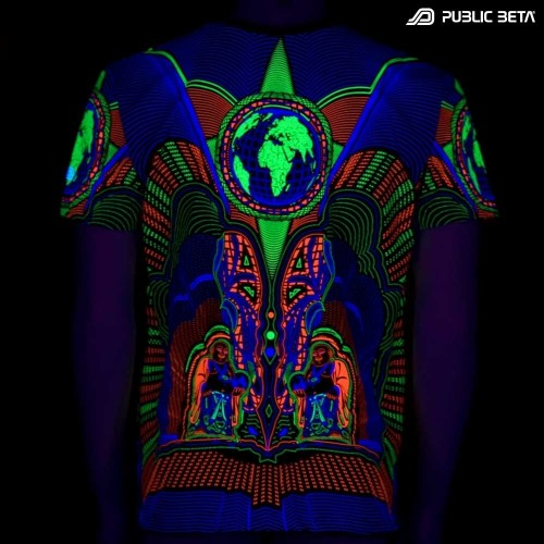 Earth Protector UV D74 T-Shirt by Public Beta Wear