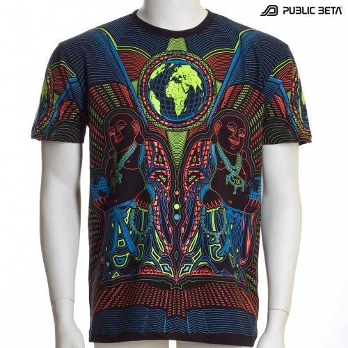Earth Protector UV Active T-Shirt - Psy Clothing