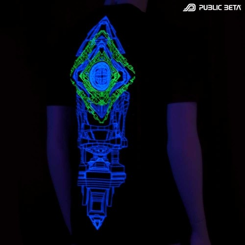 Synchronizer UV Futuristic Blacklight Clothing