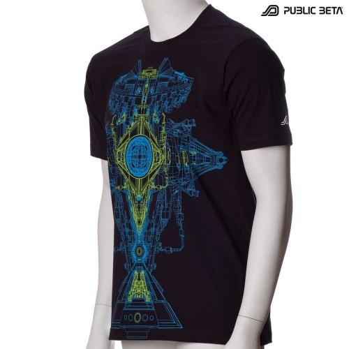 Synchronizer UV Futuristic Blacklight Clothing