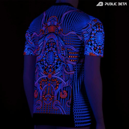 Autonom UV Reactive Psychoactive Wear - Alternative Fashion