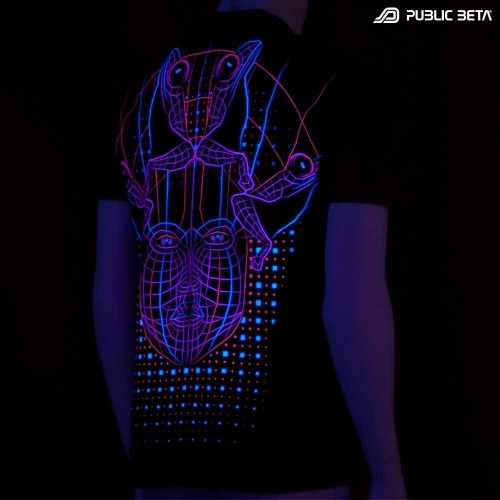 DMT UV Psy Wear- Psychoactive T-shirt