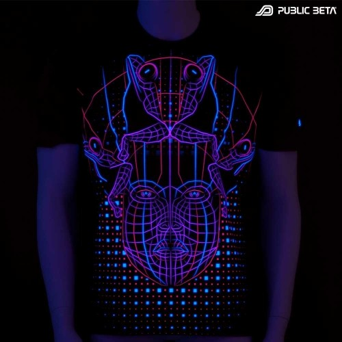 DMT UV D78 - Psychedelic T-Shirt by Public Beta Wear