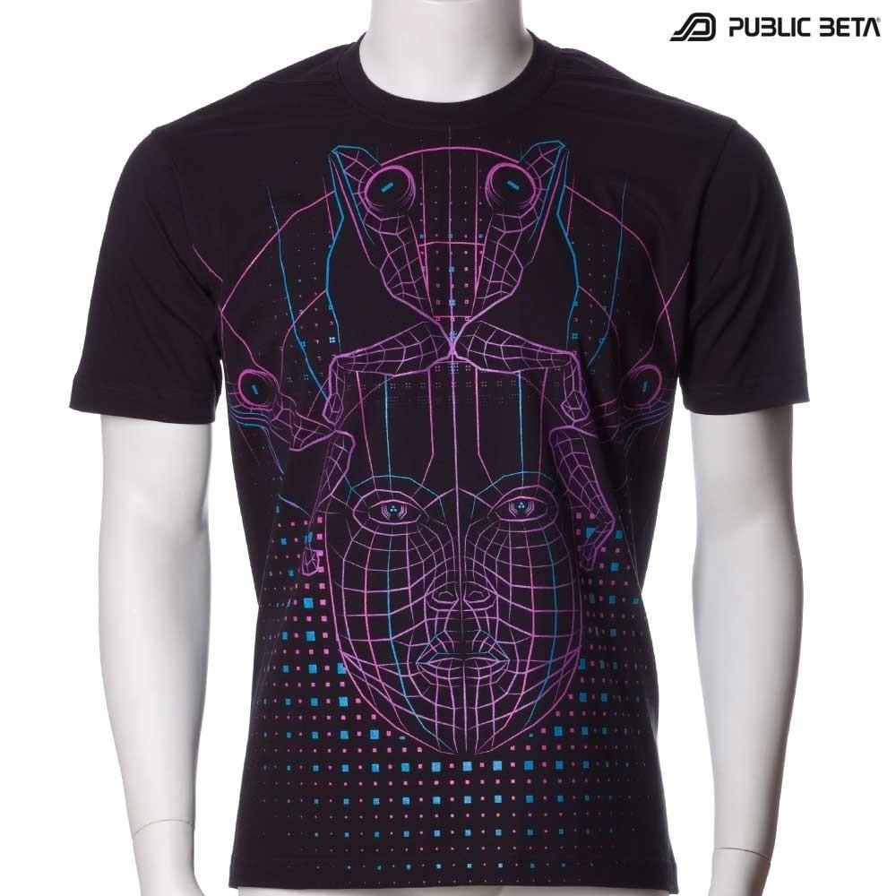 DMT UV D78 - Psychedelic T-Shirt by Public Beta Wear