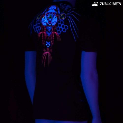 Meruvian UV Blacklight Art T-Shirt
