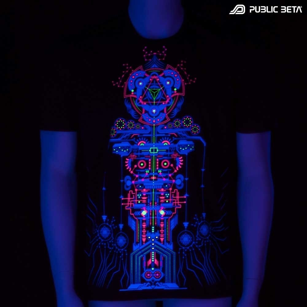 Meruvian UV Blacklight Art T-Shirt