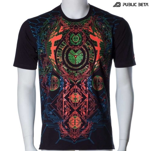 Blacklight T-Shirt /Activator UV D83