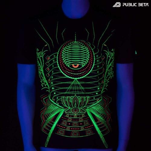 Lotus  UV Active Dark Psy T-Shirt