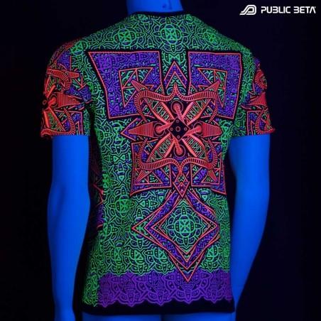 Vortex UV Blacklight Art T-Shirt