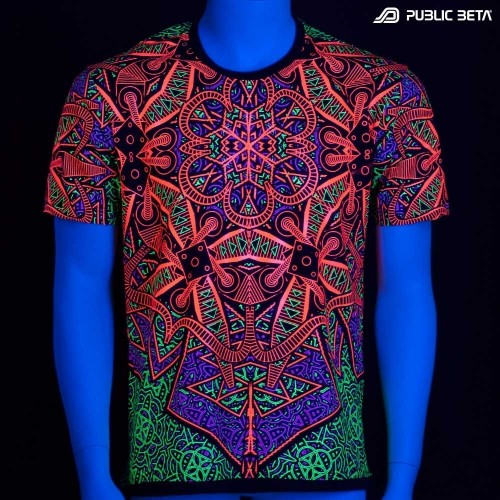 Vortex UV D98 T-Shirt by Public Beta Wear