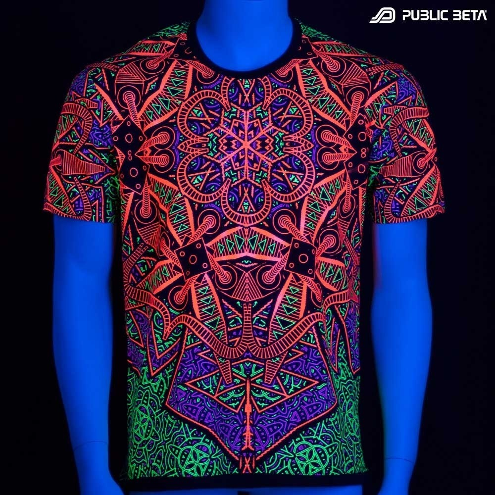 Vortex UV Blacklight Art T-Shirt