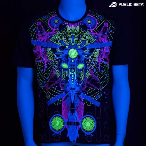 Messenger UV D96 T-Shirt by Public Beta Wear