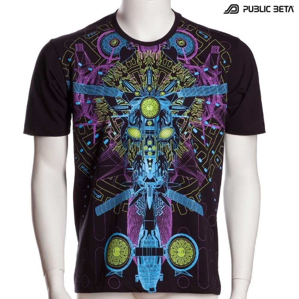 DarkPsy Blacklight T-Shirt / Messenger UV D96