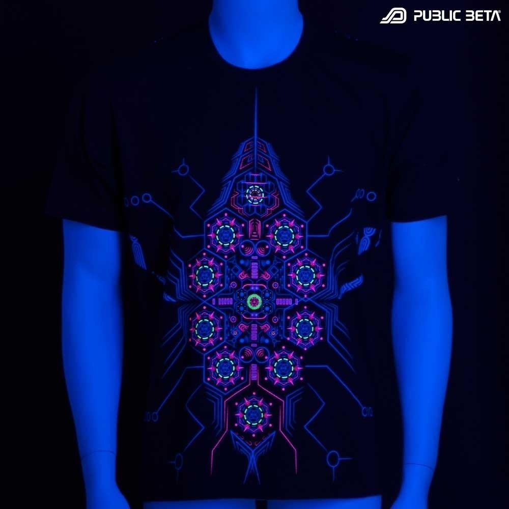 DeBug UV D95 T-Shirt / Blacklight Psyfashion