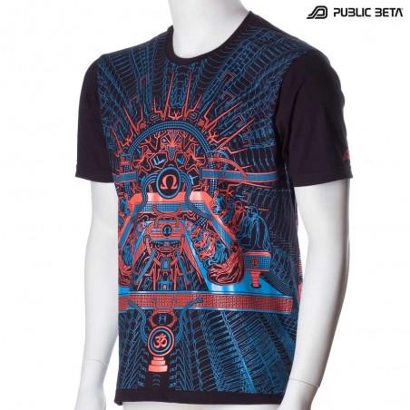OHMmm UV D88 T-Shirt - by Public Beta Wear