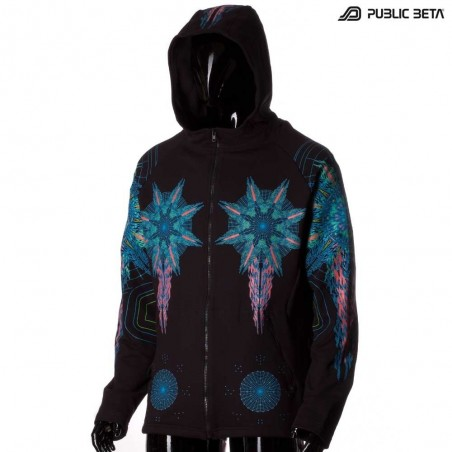 Powercore UV Glow in Ultraviolet Light Sweater