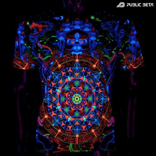Mara's Gate UV D94 Blacklight Active T-Shirt
