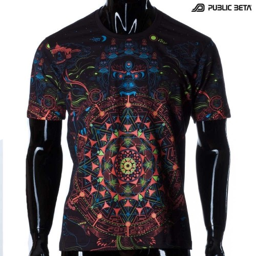 Mara's Gate UV D94 Blacklight Active T-Shirt