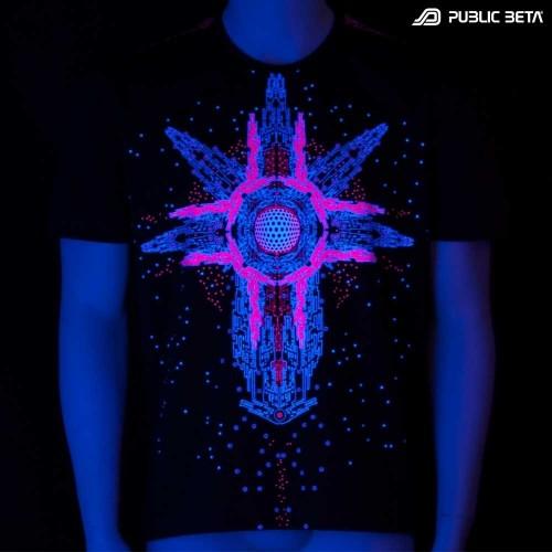Cyberdrome UV D34 T-Shirt by Public Beta Wear