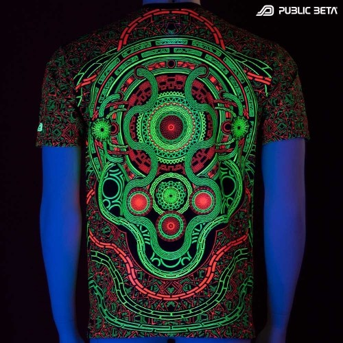 Mastermind UV Active Psy T-shirt / Dj T-shirt / Partywear
