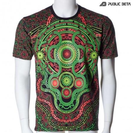 Mastermind UV Active Psy T-shirt / Dj T-shirt / Partywear