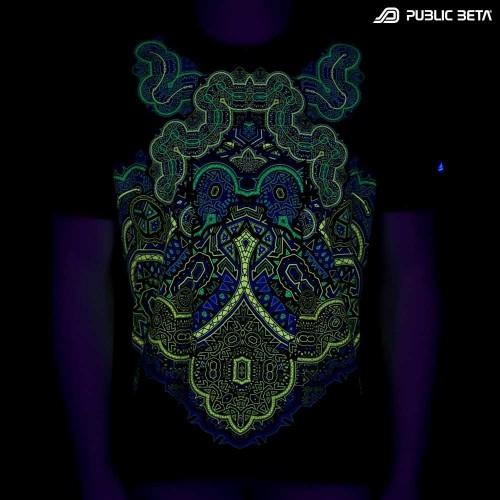 Incarnation UV D56 - Psychedelic T-Shirt by Public Beta Wear