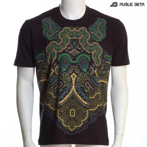 Neon Glow T-shirt / Blacklight Fashion