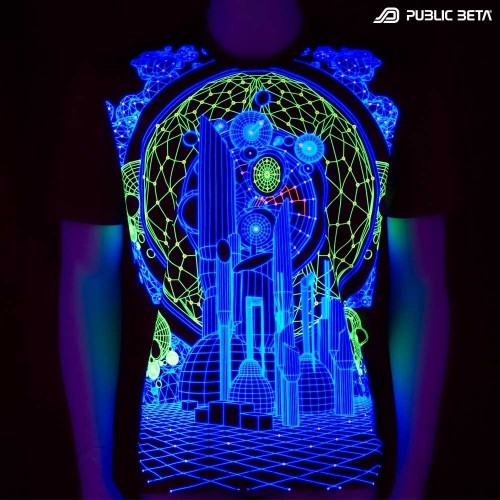 Colony UV T-Shirt / Blacklight Partywear