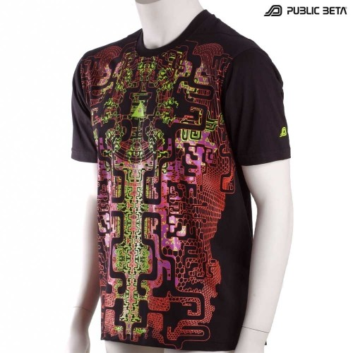 Maze of Ra UV D63 - Psychedelic T-Shirt by Public Beta Wear