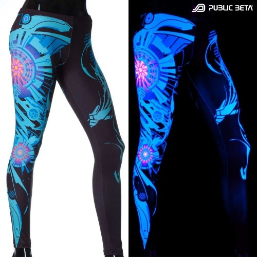 Spacemaker UV Active Leggings Partywear