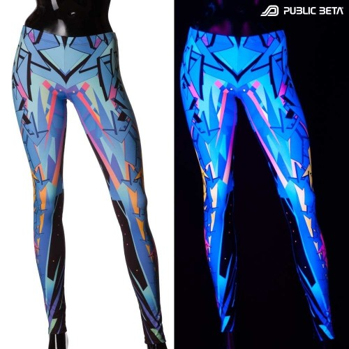 Level 9 UV D93 Leggings by Public Beta Wear