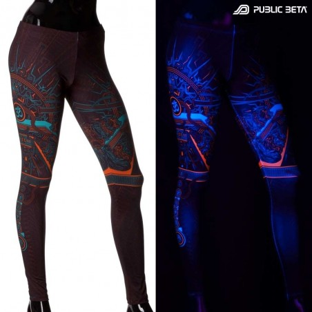 OHMmm UV Reactive Leggings