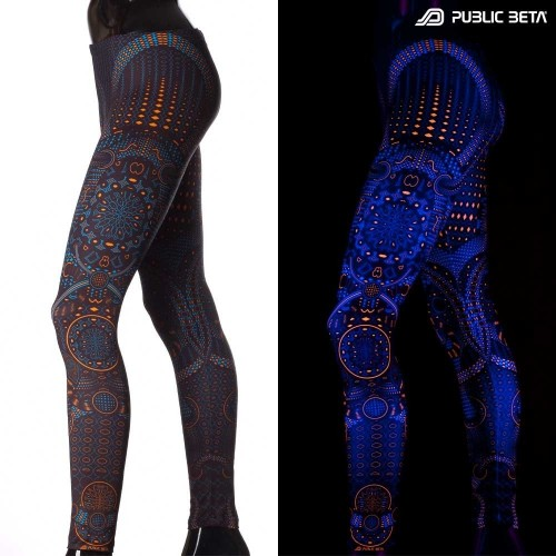 Blacklight Leggings